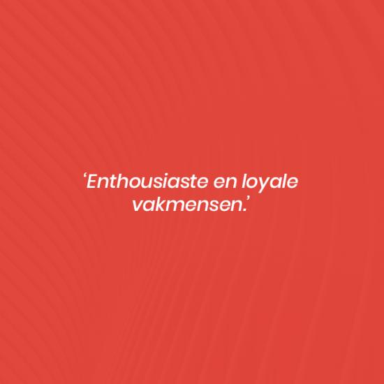 hogeslag olst enthousiaste loyale vakmensen